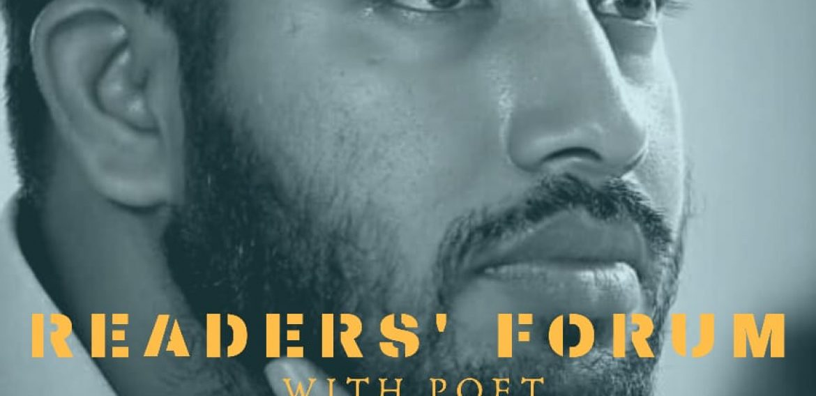 READERS FORUM WITH POET